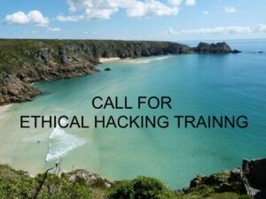 Event / Workshop : Call for Ethical Hacking Security Training