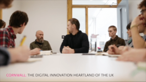 Video : Students challenge perspectives of the tech sector in Cornwall