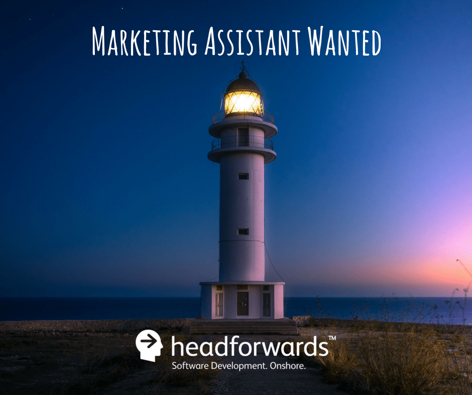 job  headforwards  marketing assistant