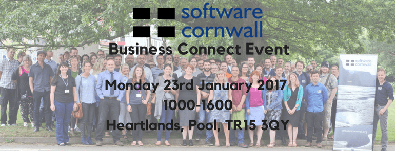 Software Cornwall Business Connect Event Jan 2017
