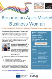 Superfast Agile Business Women to gather at PIC on 9th May