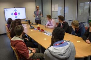 Cornish coding students gain valuable insight into leading healthcare technology