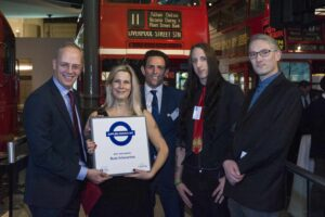 Buzz wins Best SME at the Transport for London Supplier Awards