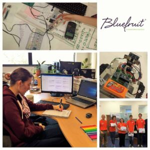 Career Launch Success - From Mission to Mars experience to Bluefruit Apprentice
