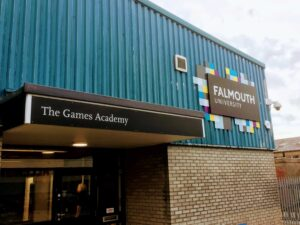 Falmouth University Games Academy Visit