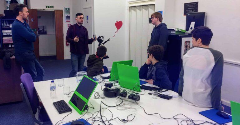 Chatbot workshop in Liskeard