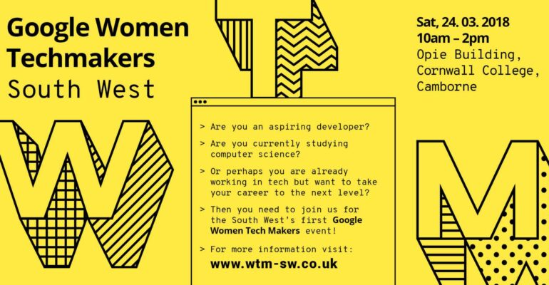 Google Women Techmakers South West event