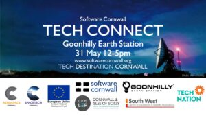 Tech Community Connect Event, Goonhilly Earth Station, 31 May, 12-5pm