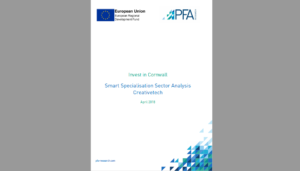 Smart Specialisation Sector Analysis : Creative Tech Cornwall 2018