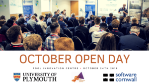 Plymouth University Computing Open Day at Pool Innovation Centre