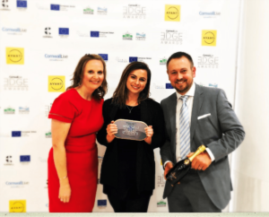 LumiraDx Care Solutions win 'Best Digital innovation in Healthcare' category in 2018 Cornwall Live EDGE Awards