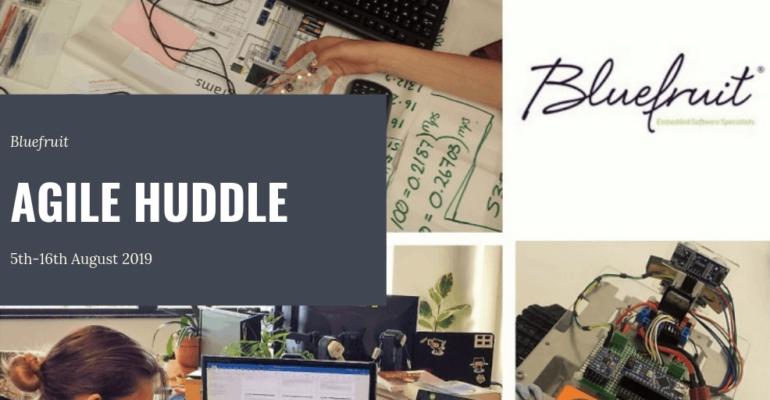 Bluefruit Agile Huddle banner