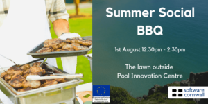 Summer Social Lunch BBQ 1st August 12:30pm